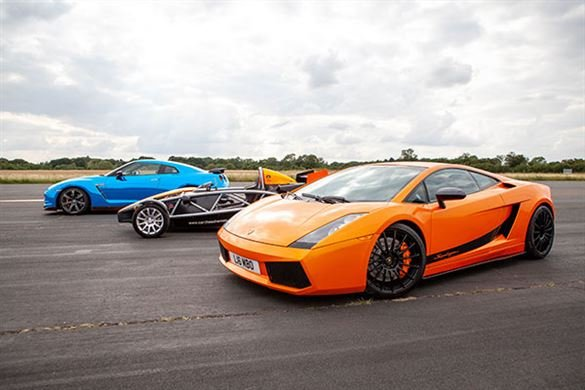 Triple Supercar Thrill with High Speed Passenger Ride Driving Experience 1