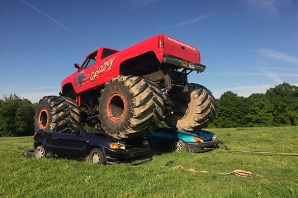 Ultimate Monster Truck Driving with Car Crush Driving Experience 1