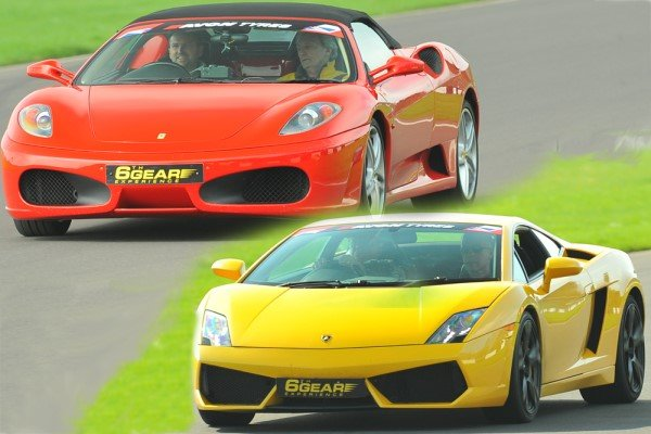 Double Supercar Thrill (Premium) Driving Experience 1