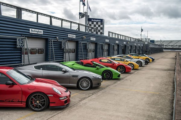 Five Supercar Blast with High Speed Passenger Ride Driving Experience 2