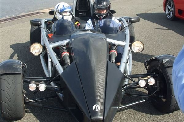 Ariel Atom Driving Experience 3