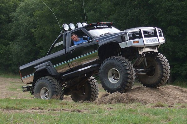 Big Boys Toys Monster Truck Driving Driving Experience 2