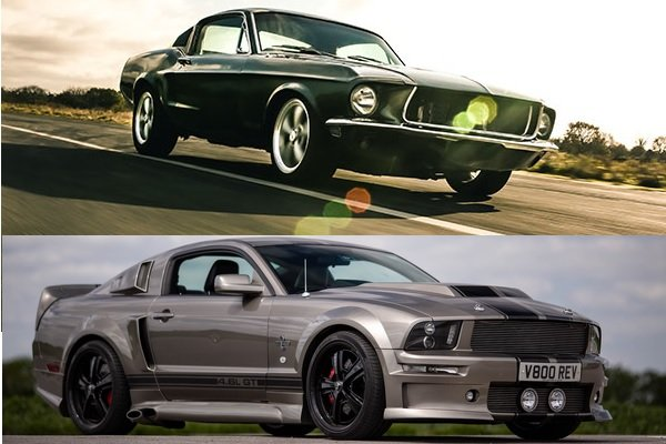 Ford 'Bullitt' Mustang vs Shelby Eleanor Mustang Driving Experience 1