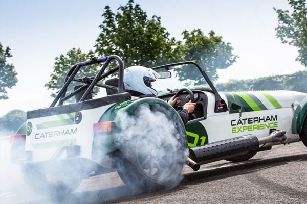 Caterham Slalom Attack Driving Experience 2