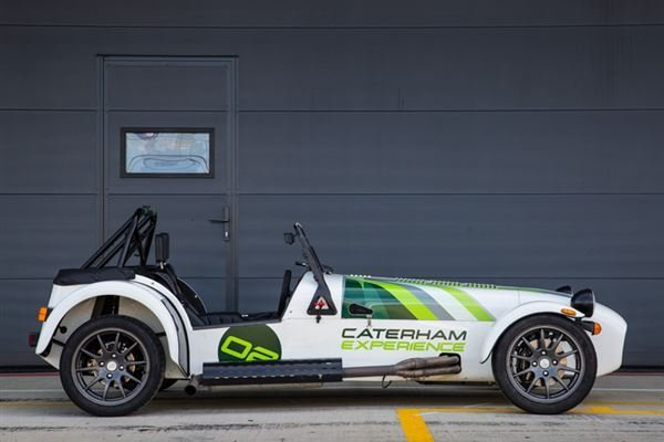 Caterham Slalom Attack Driving Experience 3
