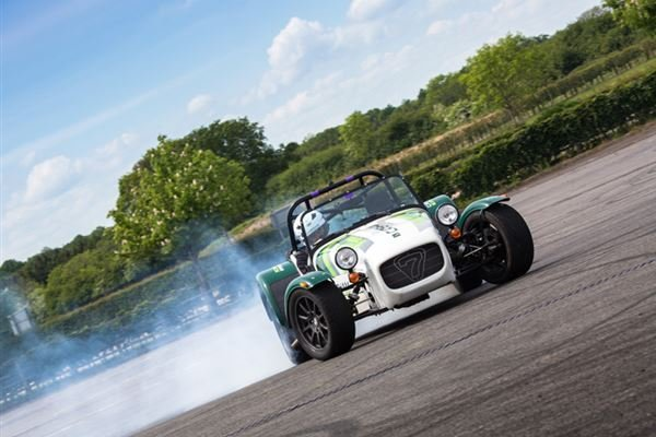 Caterham Slalom Attack Driving Experience 1