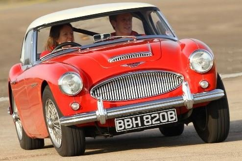 Double Classic Car Thrill Driving Experience 3