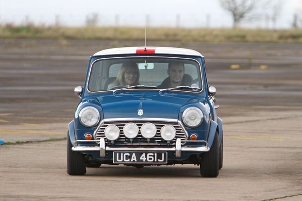 Classic Mini Thrill Driving Experience 2