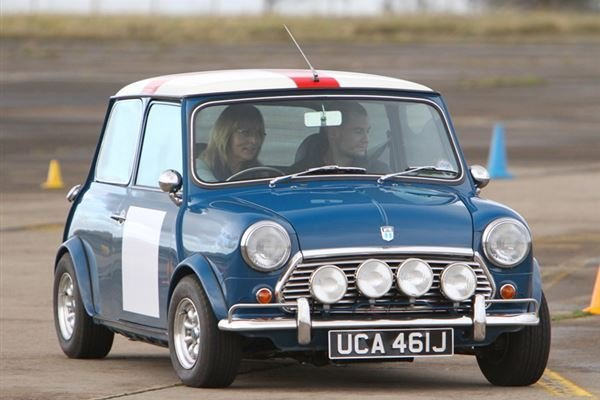 Classic Mini Thrill Driving Experience 1