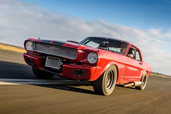 Double American Muscle Blast with High Speed Passenger Ride Driving Experience 2