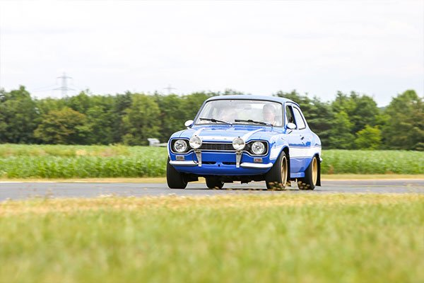 Double British Classic Blast with High Speed Passenger Ride Driving Experience 2