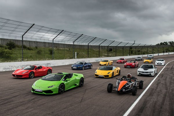 Double Supercar Blast with High Speed Passenger Ride Driving Experience 3