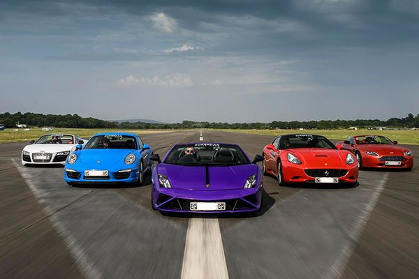 Double Supercar Blast with High Speed Passenger Ride Driving Experience 2