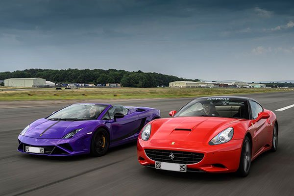 Double Supercar Blast with High Speed Passenger Ride Driving Experience 1