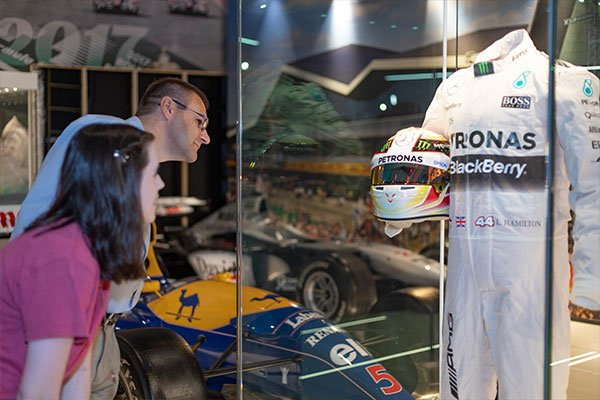 Family Visit to The Silverstone Experience - History of British Motor Racing Driving Experience 2