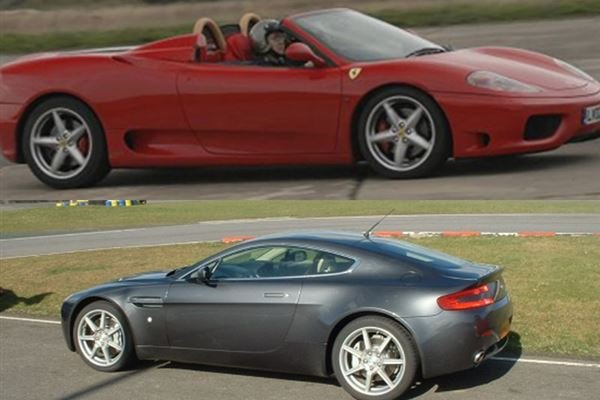 Ferrari v Aston Martin and Hot Laps Driving Experience 1