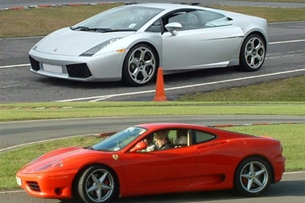 Ferrari v Lamborghini and Hot Laps Driving Experience 1