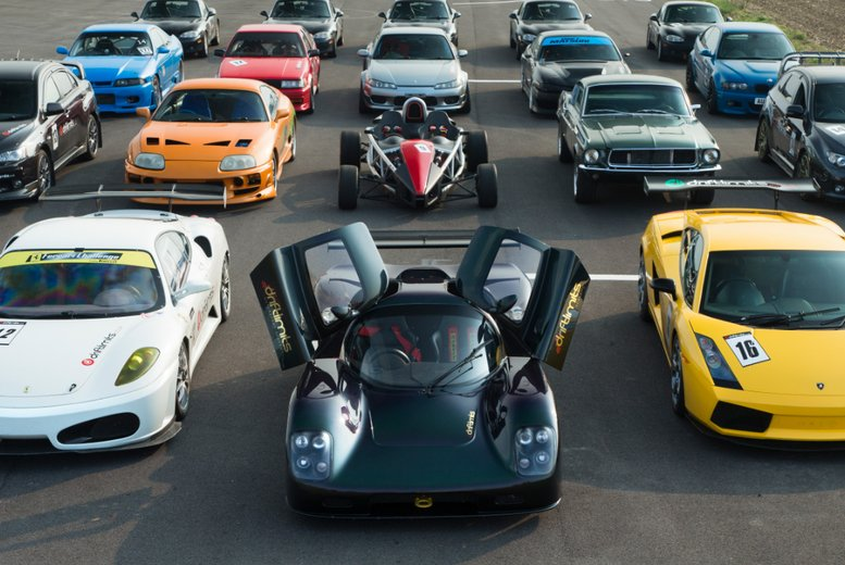 Four Supercar Thrill Driving Experience 2