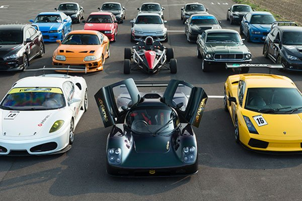 Four Supercar Blast Driving Experience 2
