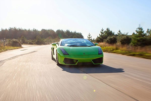Four Supercar High Speed Passenger Ride Blast Driving Experience 3