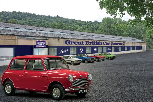 Great British Car Journey - A Tour Through Motoring History for Two Driving Experience 1