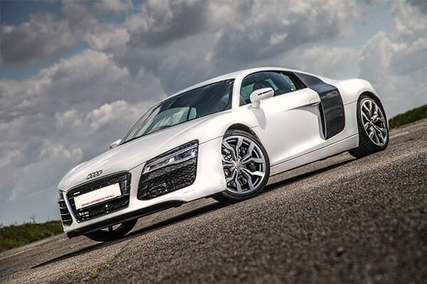 Junior Audi R8 Thrill Driving Experience 1