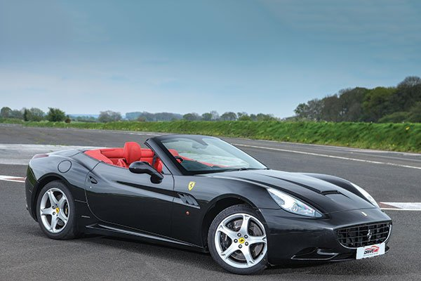 Junior Ferrari California Thrill Driving Experience 3