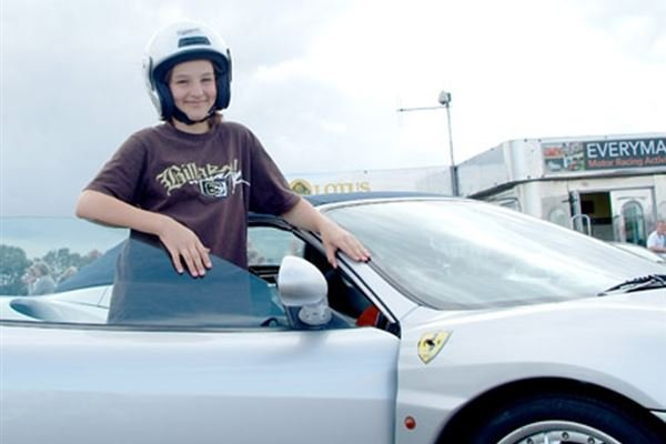 Junior Ferrari Driving Experience 1