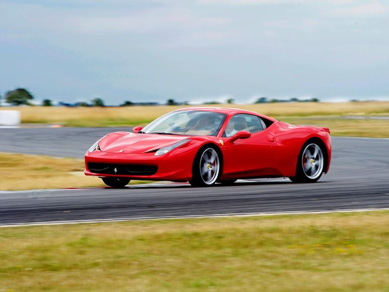 Junior Ferrari 458 Thrill Driving Experience 2
