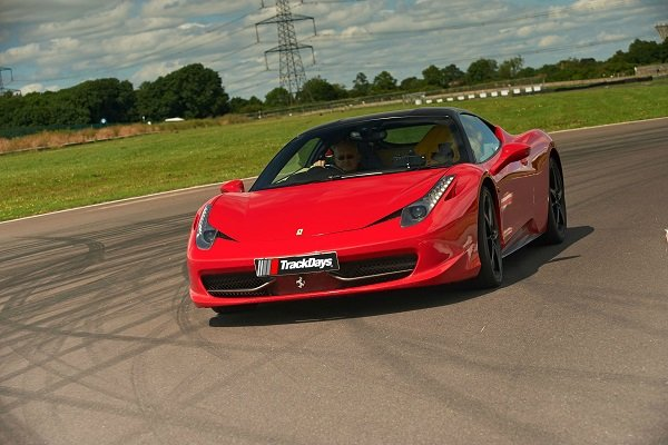 Junior Ferrari 458 Thrill Driving Experience 1