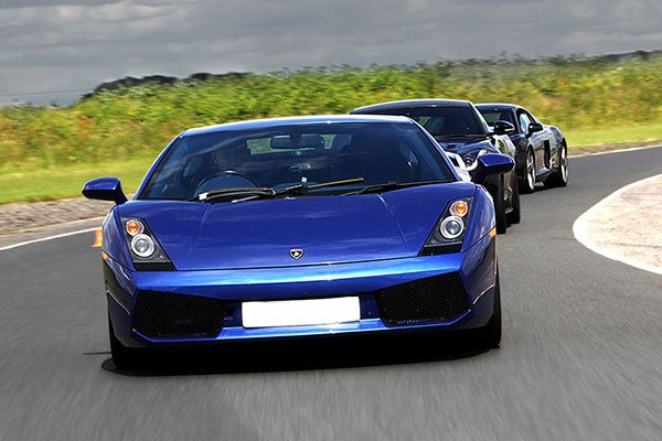 Junior Four Supercar Blast Driving Experience 3
