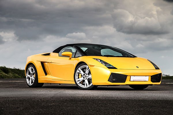 Junior Lamborghini Gallardo Thrill Driving Experience 1