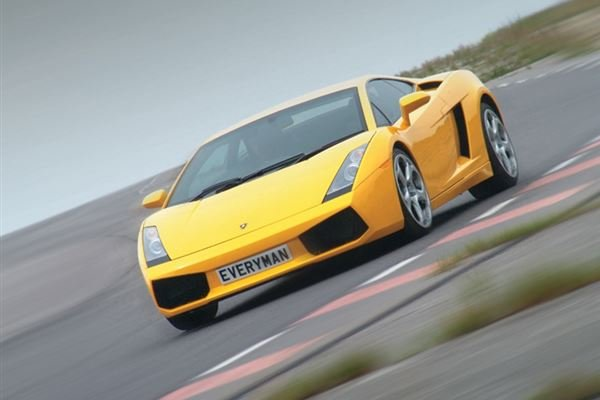 Junior Lamborghini Gallardo Driving Experience 4