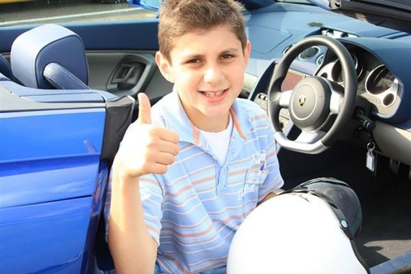 Junior Lamborghini Gallardo Driving Experience 1