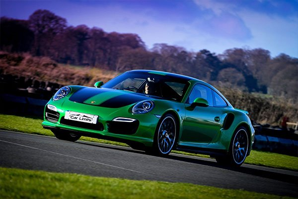 Junior Porsche 911 Turbo Blast Driving Experience 1
