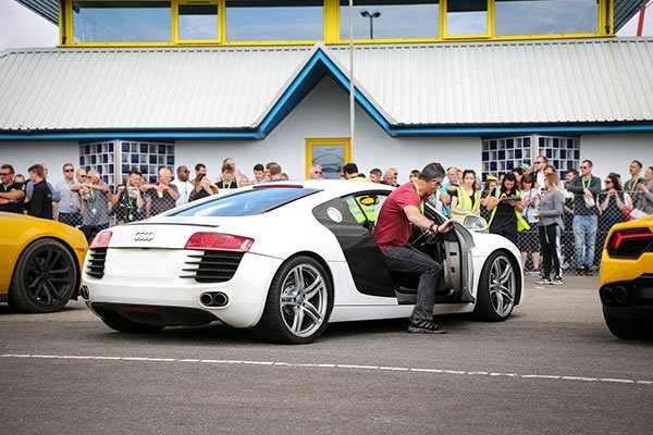 Junior Six Supercar Thrill with High Speed Passenger Ride Driving Experience 3
