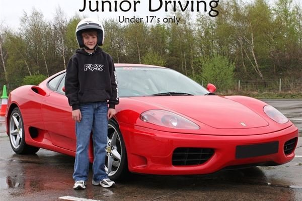 Junior Supercar Thrill Driving Experience 4