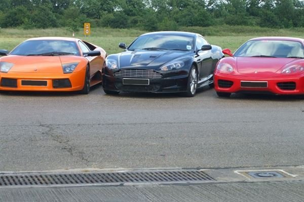 Junior supercar double Driving Experience 3