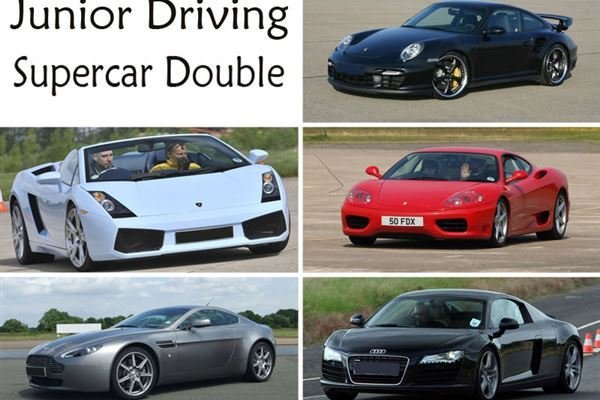Junior supercar double Driving Experience 1