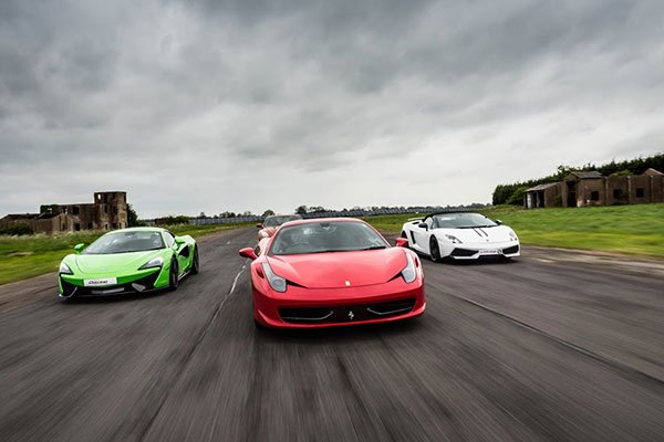 Junior Supercar Platinum Driving Experience 1