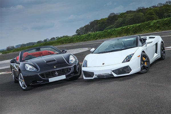 Junior Triple Supercar Thrill Driving Experience 3