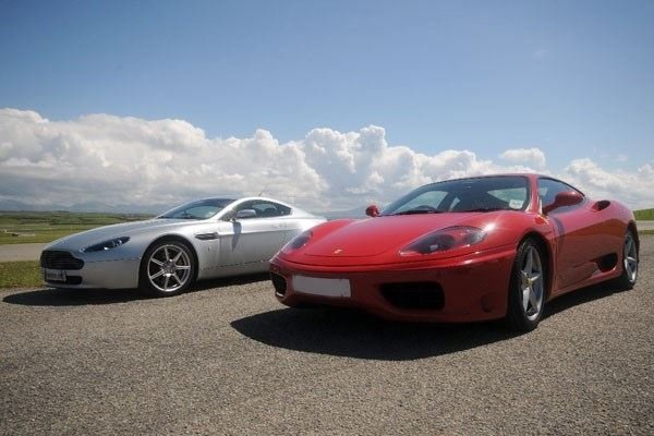 Junior Triple Supercar and Rally Driving Thrill Driving Experience 1