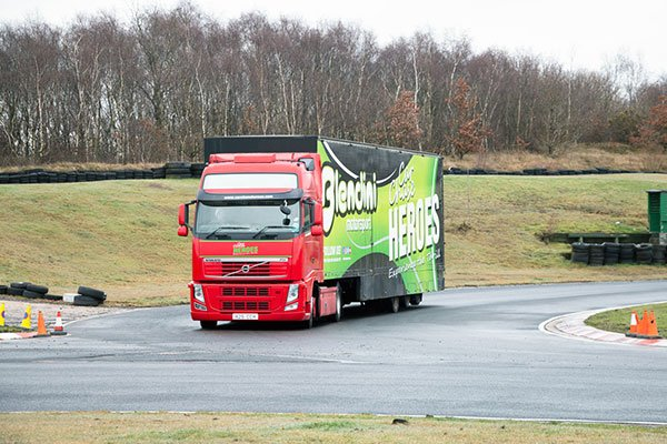 Junior Volvo Truck Driving Thrill Driving Experience 2