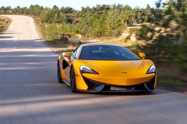 McLaren 570S Thrill with High Speed Passenger Ride Driving Experience 2
