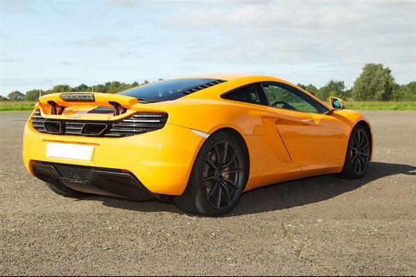 Mclaren MP4 12C Thrill Driving Experience 4