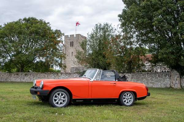 MG Midget Classic Car Hire - Weekday Driving Experience 1