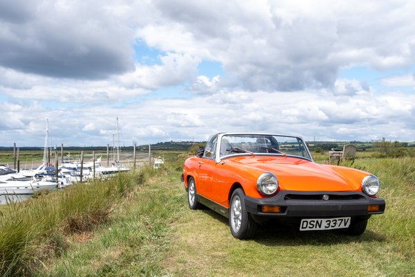 MG Midget Classic Car Hire - Grab the Weather Deal Driving Experience 2