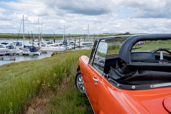 MG Midget Classic Car Hire - Grab the Weather Deal Driving Experience 3