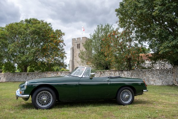Any MG Anytime Classic Car Hire - Grab the Weather Deal Driving Experience 3
