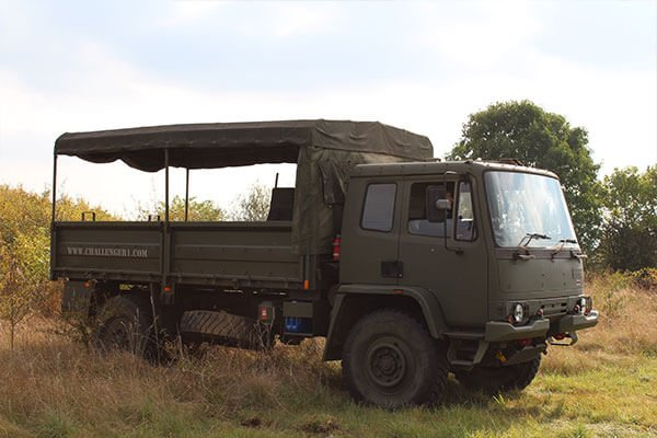 Off Road 4x4 Army Truck Driving Experience with Tank Passenger Ride Driving Experience 1